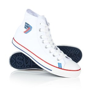 Retro Sport High Top Trainers,Mens,Sneakers