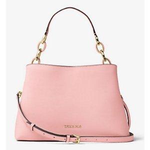 Portia Large Saffiano Leather Shoulder Bag | Michael Kors