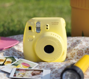 Fujifilm Instax Mini 8 Instant Film Camera Yellow @ Amazon