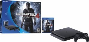500GB Sony PlayStation Uncharted 4 Slim Console