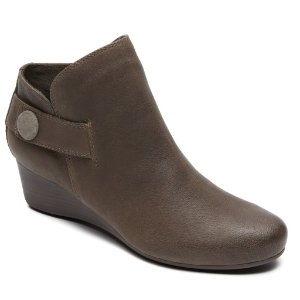 Total Motion Wedge Stone Bootie