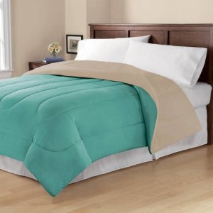 Starting at $15.67 Mainstays Solid Reversible Bedding Comforter
