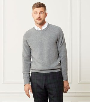 Merino Wool crewneck on sale