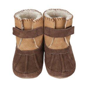 Galway Cozy Baby Boots, Brown |Robeez