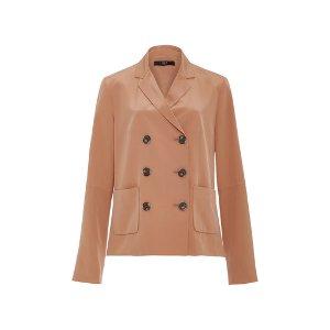Silk Double Breasted Blazer by Tibi | Moda Operandi