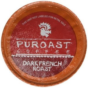 Puroast Coffee Dark French Roast 2.0 Compatible K-Cup, 30 Count