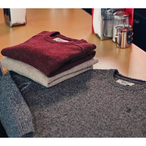 P55 LAMBSWOOL CREW NECK SWEATER | Original Penguin