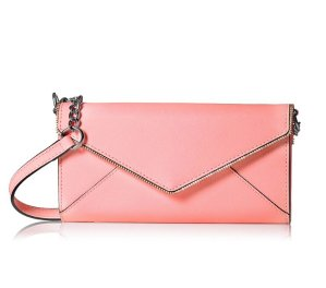 $64.79(reg.$145) Rebecca Minkoff Cleo Wallet On A Chain Cross-Body Bag