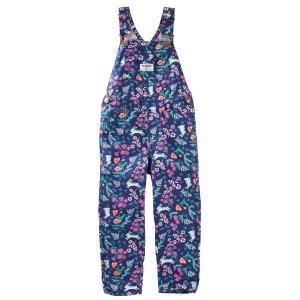 Toddler Girl Floral Twill Overalls | OshKosh.com