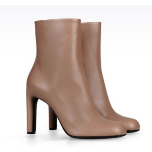 Giorgio Armani Women HEAVY-DUTY BOOT IN CALFSKIN, Calf-skin leather - Armani.com