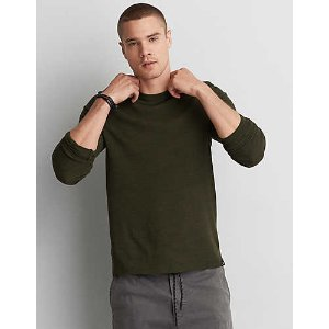 AEO Active Flex Thermal, Olive | American Eagle Outfitters