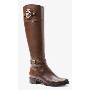 Stockard Leather Boot | Michael Kors