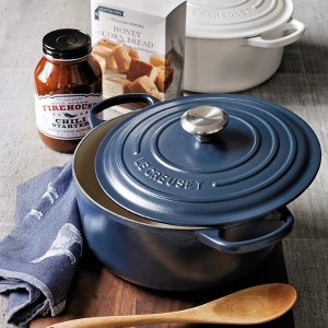 Today Only! $169.95Le Creuset Signature Cast-Iron Round Dutch Oven 3 1/2-Qt.