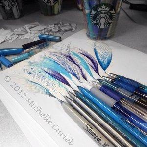 As Low as $1.25 Uni Ball Signo Gel RT Roller Ball Retractable Gel Pen Blue Ink Medium Dozen