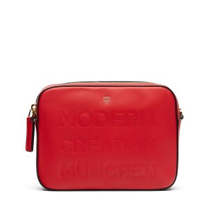 Large Repro Crossbody in Ruby Red by MCM