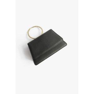 Metal Handle Mini Handbag