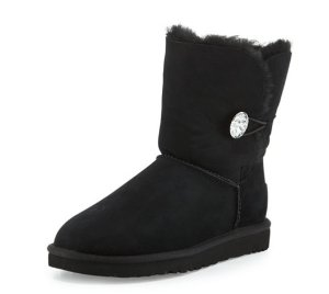 Extended One More Day! Up to $100 Off UGG Bailey Bling Button Boot @ Neiman Marcus