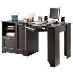 $149.99(原价$239.99) Realspace 角落电脑办公桌书柜套装