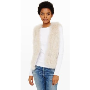 Violet Feather Vest