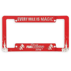 runDisney License Plate Frame | Disney Store