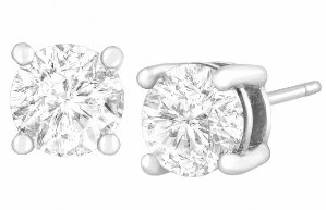 Dealmoon Christmas In July! GWP 2.5 Ct CZ Stud Earrings + Deals Starting at $17 @ Jewelry.com