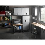 $99.99 Gladiator Premier Series Pre-Assembled 30 in. Garage Wall Cabinet