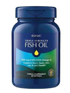 $9.99GNC Triple Strength Fish Oil 60 softgels
