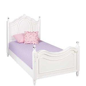 Najarian Furniture Duchess Twin Bed - White - Najarian Furniture - Toys