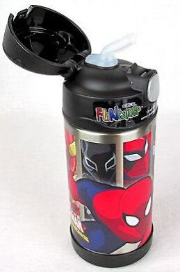 Thermos Funtainer 12 Ounce Bottle Spiderman