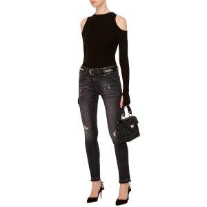 Jenny Mid-Rise Skinny Jeans by R13 | Moda Operandi