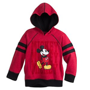 Mickey Mouse Hooded Fleece Pullover for Kids | Disney Store