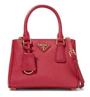 £843.34PRADA Galleria Baby Textured-leather Tote @ Net-A-Porter UK
