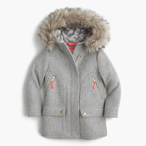 Girls' Stadium-Cloth Chateau Parka : Girls' Jackets & Coats   J.Crew