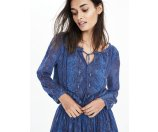 Long-Sleeve Print Boho Dress | Banana Republic