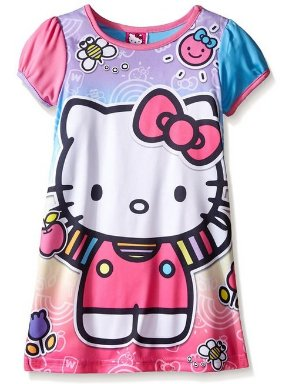 From $8.63 Hello Kitty Girls Rainbow Fun Nightgown