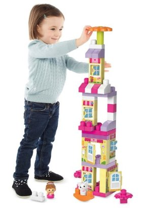 $11.6(原价$24.99)Mega Bloks 大号儿童积木玩具积木-41块