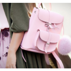 Unineed.com | GRAFEA 100% Leather Baby BUBBLE Backpack - Pink - Premium beauty and fashion from Unineed.com