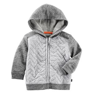 Quilted Hoodie | Carters.com