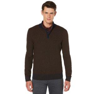 Textured Chevron Sweater | Perry Ellis