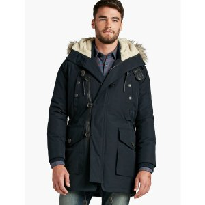 Navy Fur Lined Parka | Lucky Brand