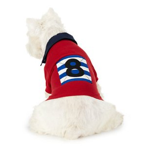 Color-Blocked Cotton Dog Rugby - For the Pet � Home - RalphLauren.com