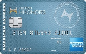 Earn 50,000 Hilton HHonors(TM) Bonus Points after Required Spend Terms Apply Hilton HHonors(TM) Card from American Express