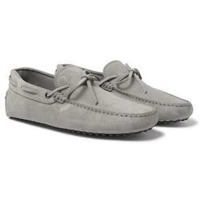Tod's - Gommino Suede Driving Shoes