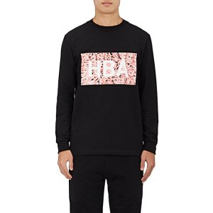 Hood by Air Cotton Long-Sleeve Graphic T-Shirt | Barneys New York