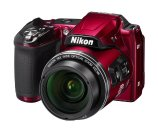 Manufacturer refurbished Nikon COOLPIX L840 Digital Camera with 38x Optical Zoom and Built-In Wi-Fi