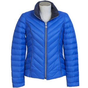 REVERSIBLE PACKABLE DOWN PUFFER JACKET