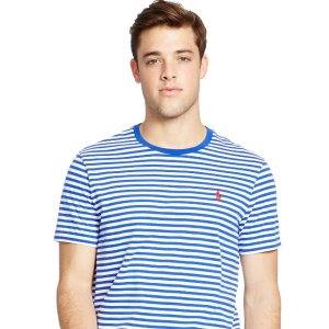 Up to 50% Off + Extra 15% Off Men's Striped T-Shirts @ Ralph Lauren
