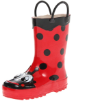 $13.11 Western Chief Kids Ladybug Rain Boot
