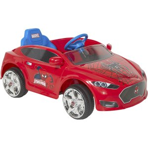 Spider-Man 6V Speed Electric Battery-Powered Coupe Ride-On - Walmart.com