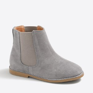 Girls' suede Chelsea boots : Shoes | J.Crew Factory